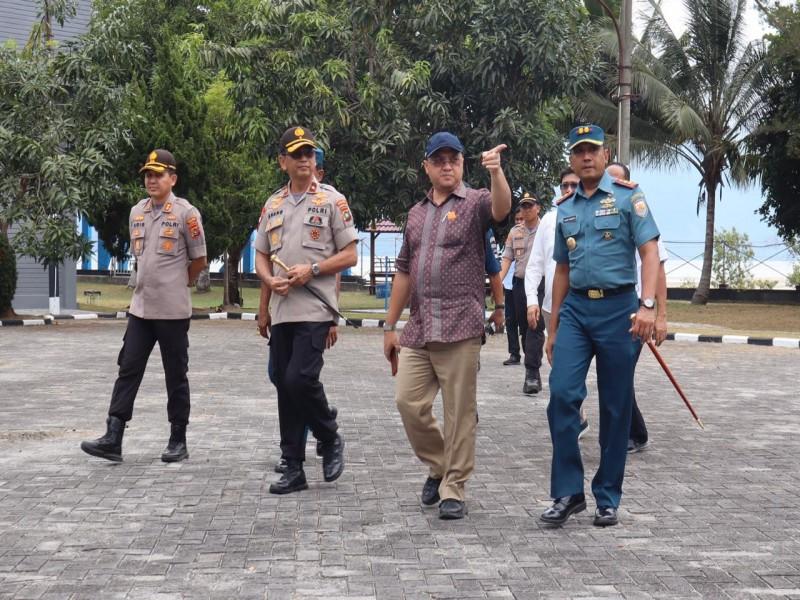 Gubernur Erzaldi Rosman Apresiasi Pencegahan Virus Corona di Mako Lanal Babel