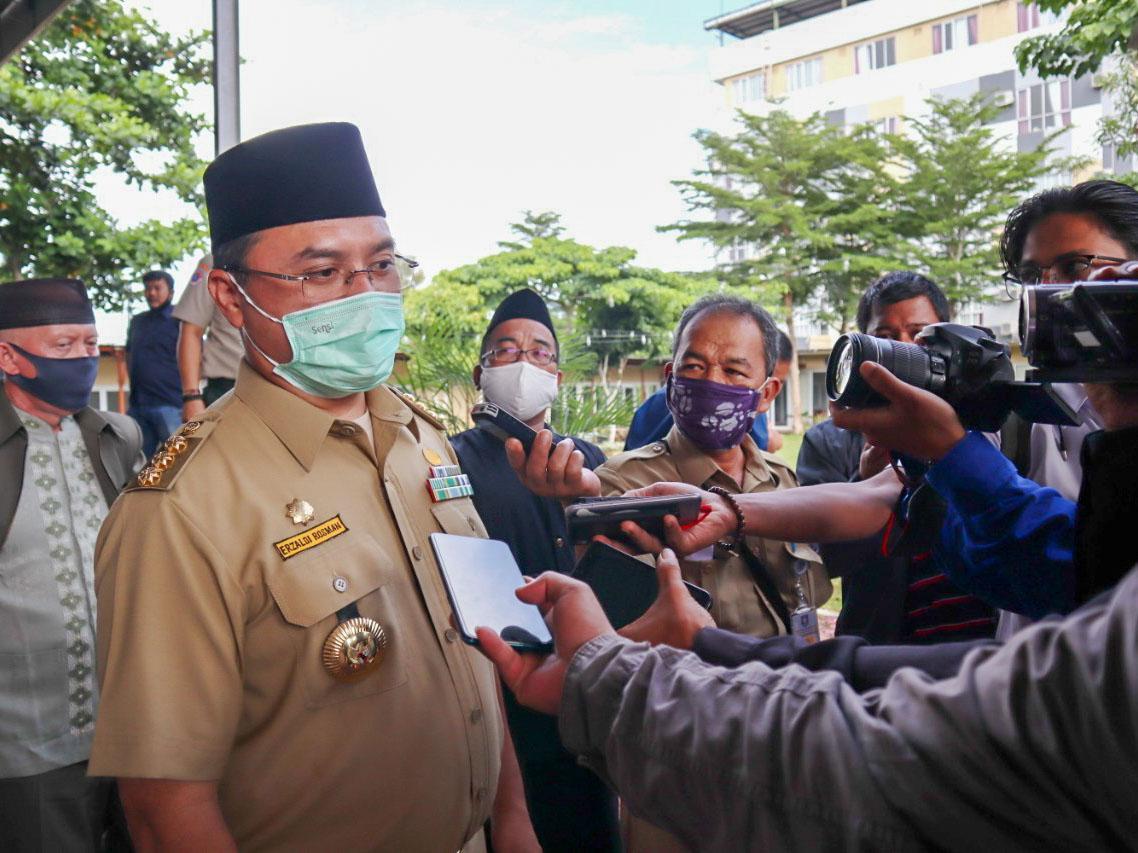 Gubernur Erzaldi Sampaikan Ucapan Belasungkawa Atas Musibah Sriwijaya Air SJ182