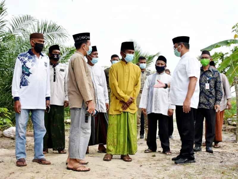 Gubernur Erzaldi Silaturahmi ke Pesantren Darussholah Merawang