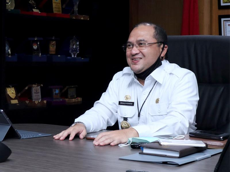 Gubernur Erzaldi Tularkan Semangat Entrepreneur Kepada Pramuka se-Babel