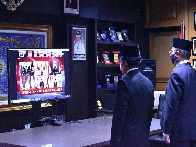 Gubernur Erzaldi Yakin dengan Pancasila, Bangsa Indonesia Mampu Menjadi Pemenang