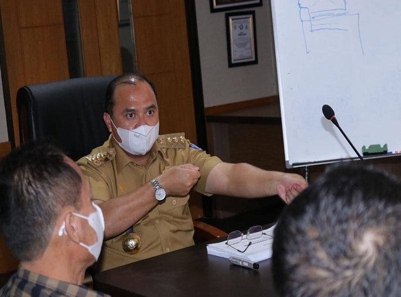 Gubernur Matangkan Rencana Pembangunan Pelabuhan Perikanan di Kawasan Batu Rusa