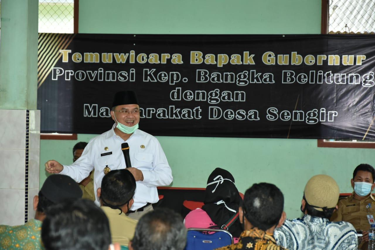 Gubernur Resmikan Kampung Tegep Mandiri Desa Sengir, Contoh Wilayah Tanggap Tangani Covid-19