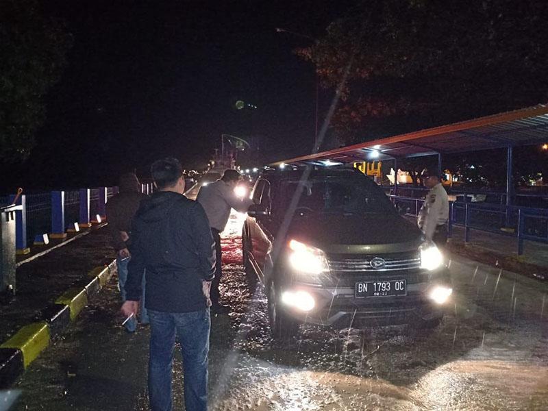 H+7 Idul Fitri 1440 H, Pelabuhan Tanjung Kalian Muntok Masih Dipadati Pemudik