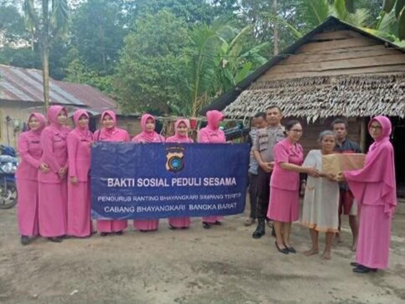 Ibu Bhayangkari Dukung Suami Agar Dicintai Masyarakat