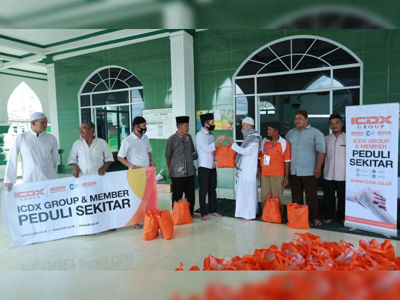 ICDX Group & Member Isi Keberkahan Ramadhan dengan Peduli Sekitar