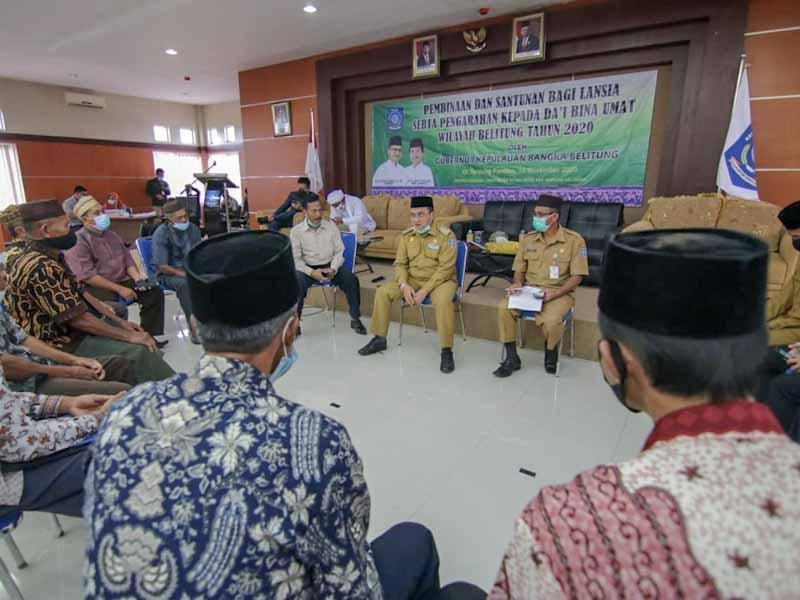 Insentif Bina Umat di Belitung Terhambat, Pemprov Babel Langsung Selidiki Penyebabnya