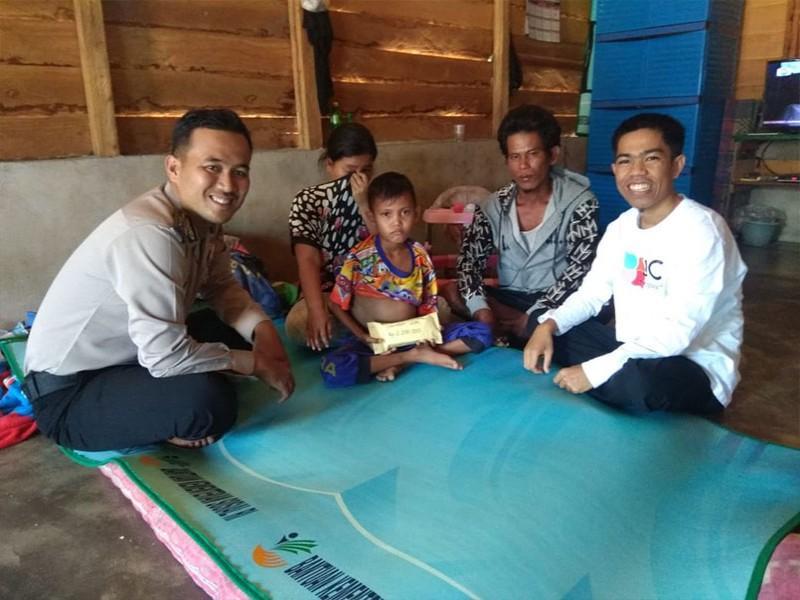 JCA Simpang Rimba Serahkan Bantuan untuk Delipo