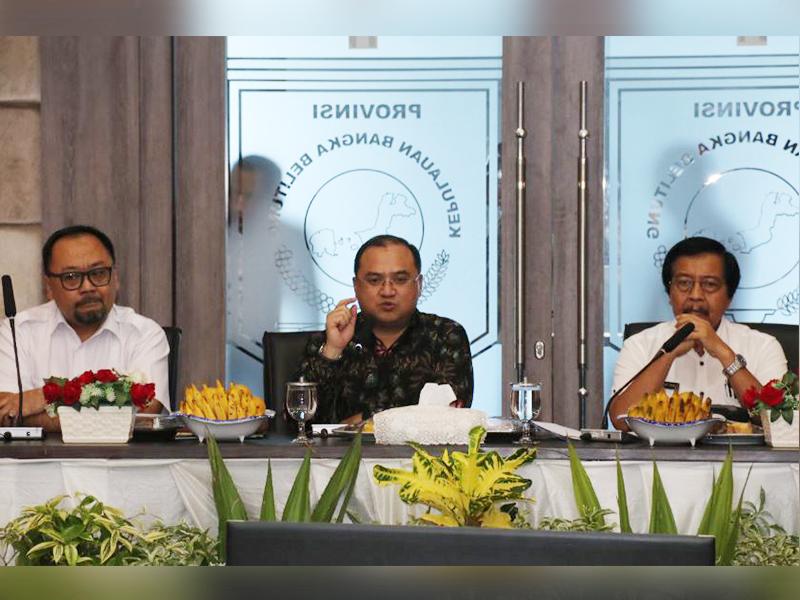 Jelang Audit BPK, Gubernur Erzaldi Ingatkan OPD Segera Lengkapi Berkas