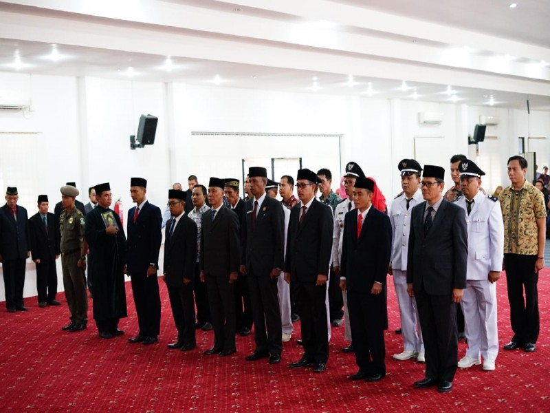 Jumat Barokah, Walikota Pangkalpinang Copot Lima Pelaksana Tugas, Sebentar Lagi Giliran Lurah