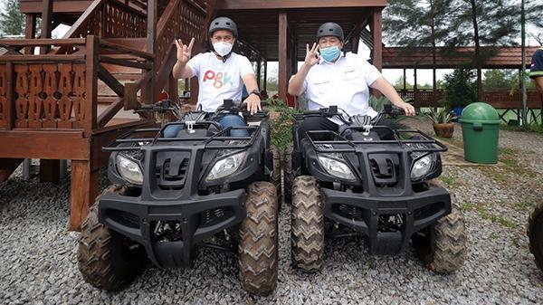 Kampoeng Reklamasi, Di Sini Bisa Seru-Seruan Naik Motor ATV
