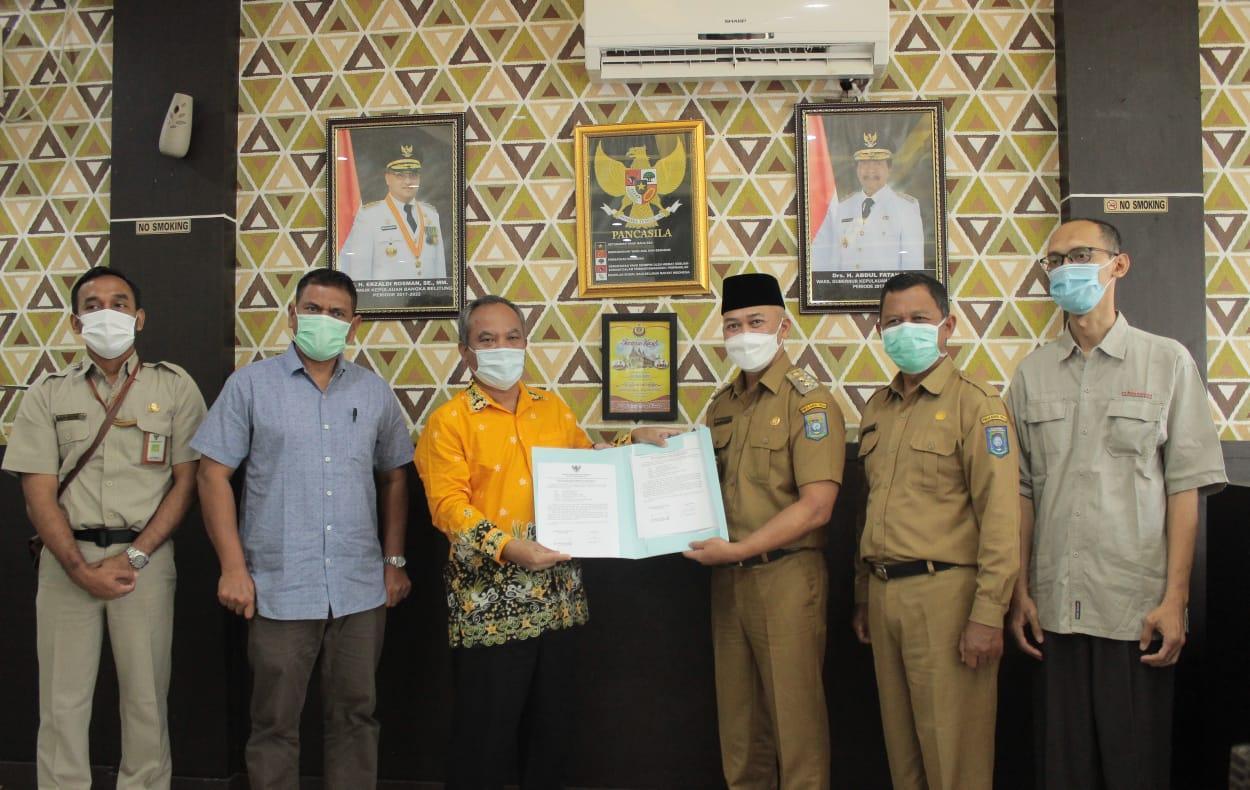 Kanreg VII BKN Palembang Datang, Bang Pian Senang 239 Kenaikan Pangkat ASN Bateng Sudah Diproses