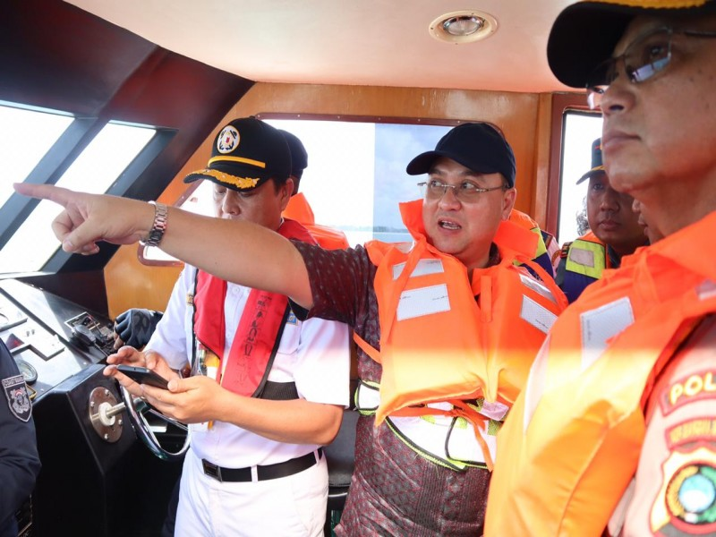 Kapal Wisata Yang Mau Ke Bangka Diarahkan Sandar Di Tanjung Gudang