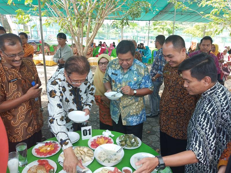 Kecamatan Toboali Juara 1 Lomba Memasak Ikan TCOF Season 4