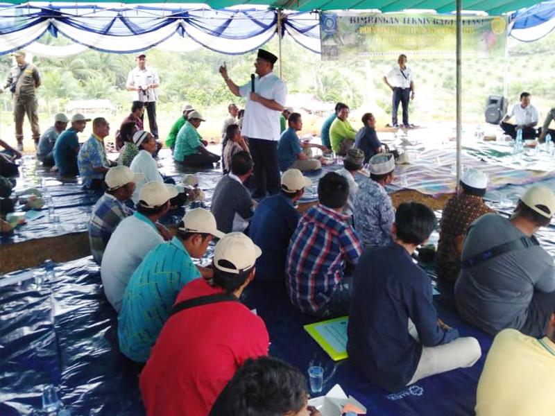 Kembangkan Sektor Pertanian, Petani Desa Munggu Ikuti Bimtek