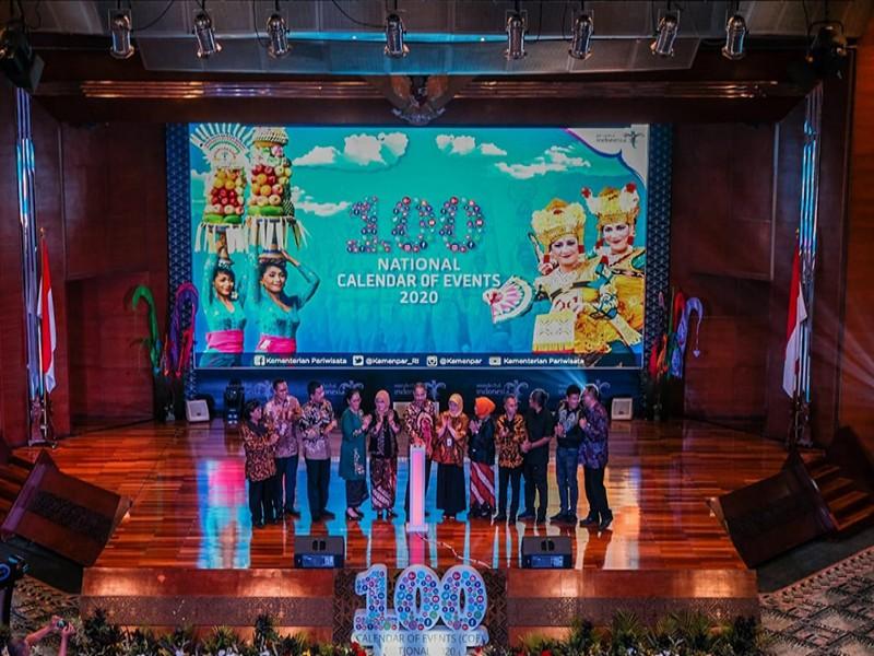 Kemenpar Launching Calender Of Event Wonderful Indonesia 2020, Empat Event Babel Masuk Daftar