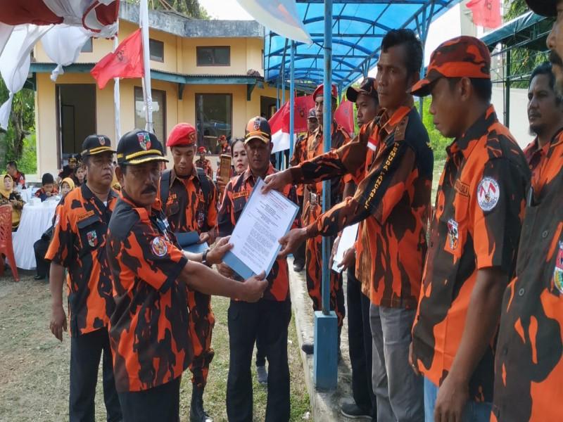 Ketua MPC PP Kabupaten Bangka Lantik 5 Pengurus PAC