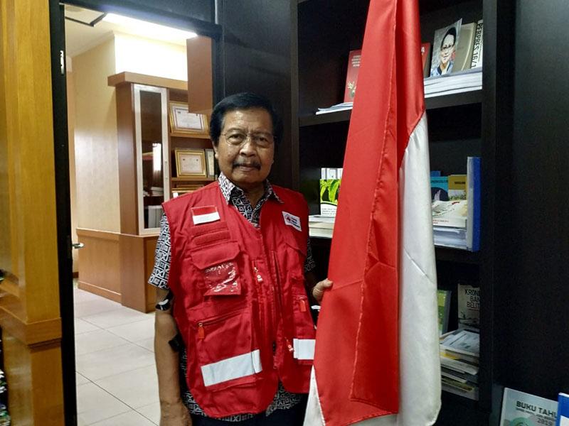 Ketua PMI Babel Imbau Masyarakat untuk Melakukan Penyemprotan Disinfektan secara Mandiri