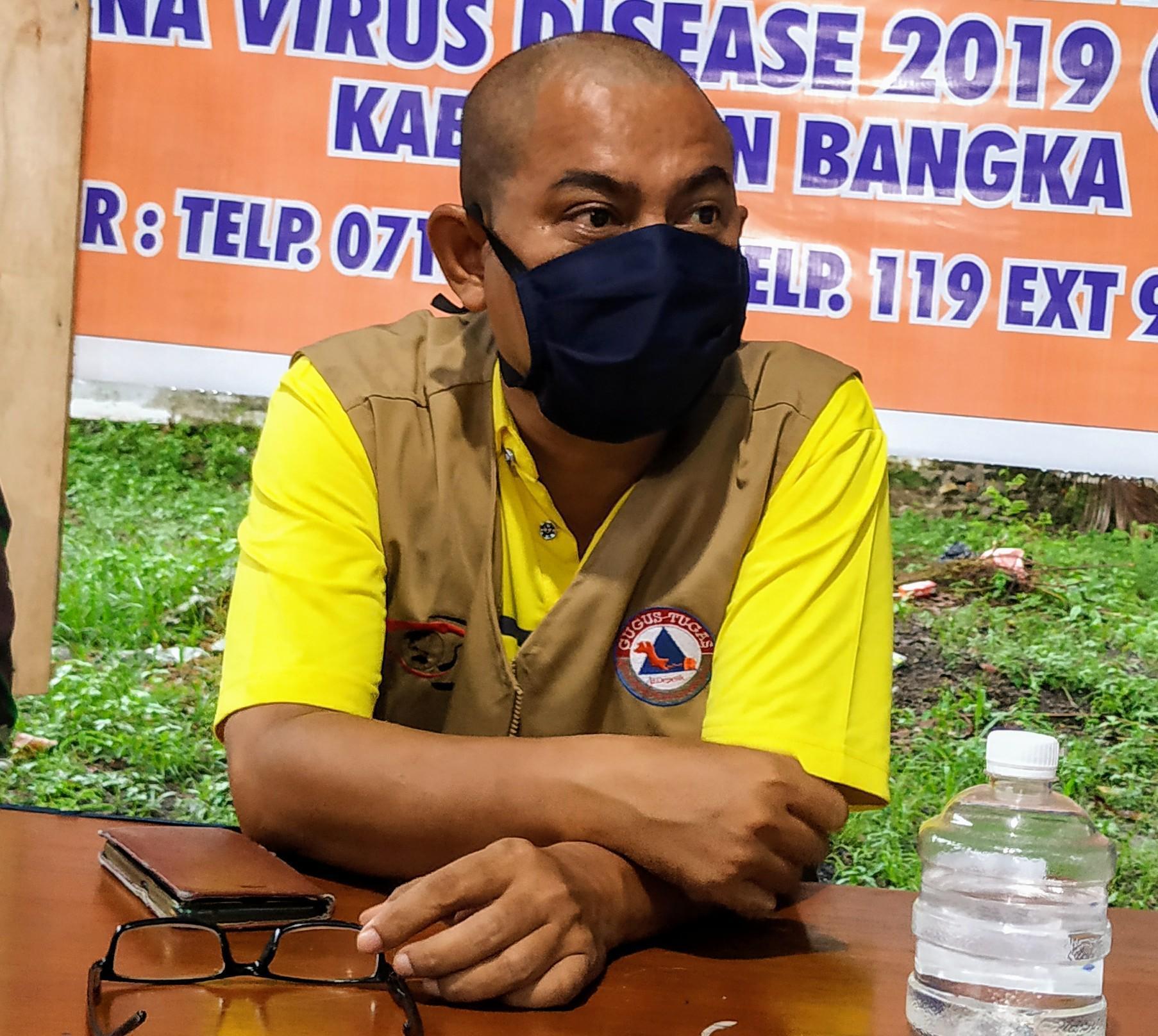 Ketua Tim Relawan Pemantau ODP Wilayah Bangka : Kita Akan Tindak Tegas ODP Tugil
