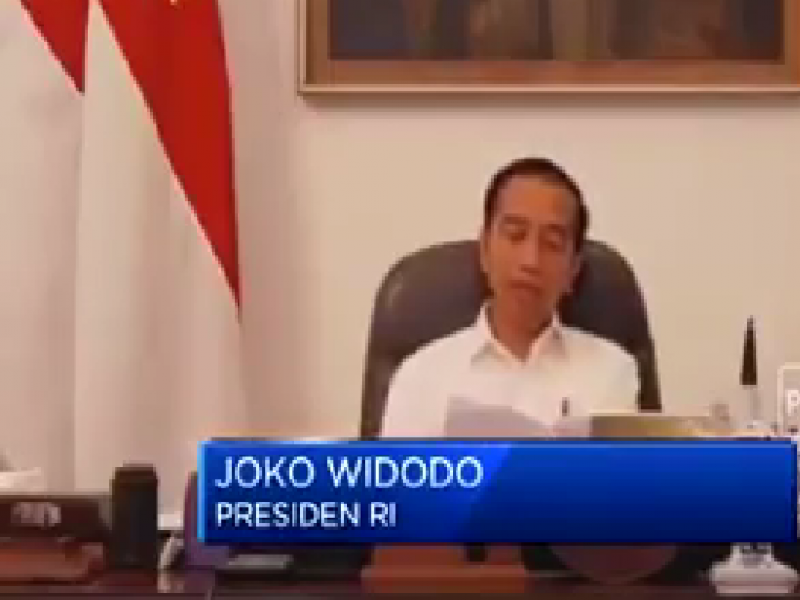 Khusus UMKM Dapat Relaksasi Kredit, Jokowi Sebut Cicilan Ditangguhkan Setahun