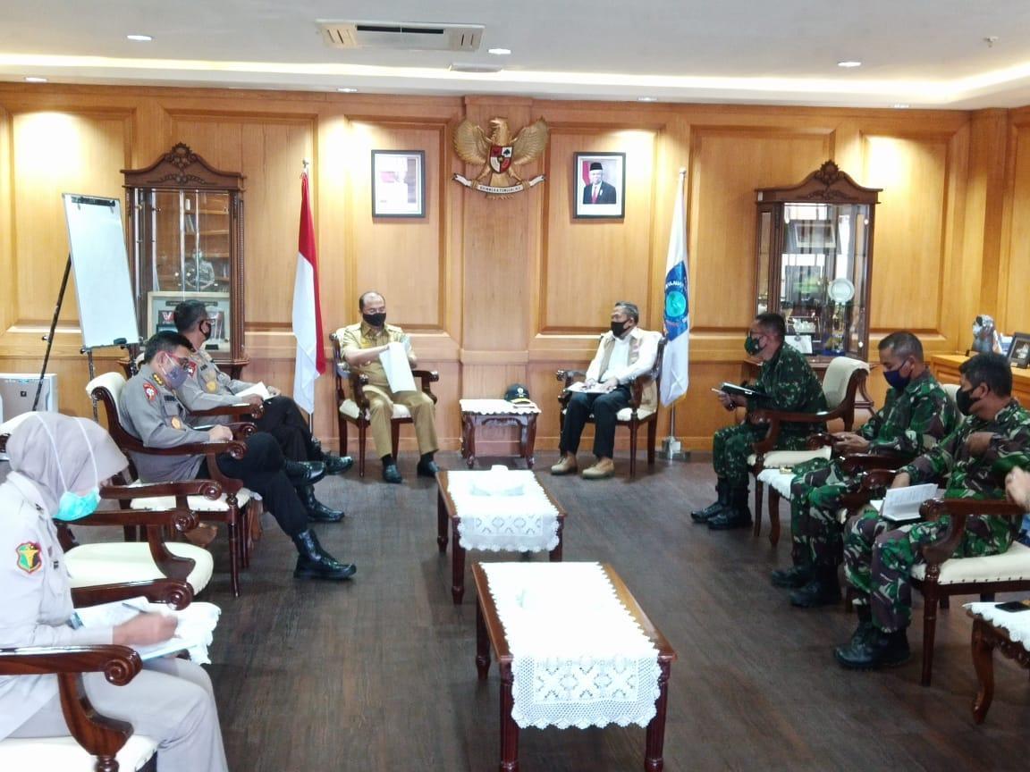 Kolonel Czi M. Jangkung : TNI Siap Membantu Pemerintah Daerah dalam Percepatan Penanganan Covid-19