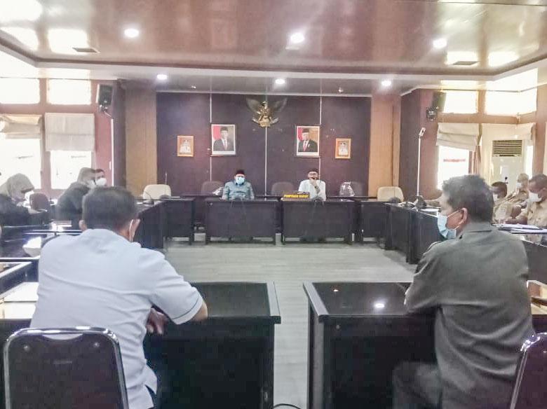 Komisi IV DPRD Babel Gelar RDP Soal Honorer Nakes RS Covid-19 yang Belum Dibayar