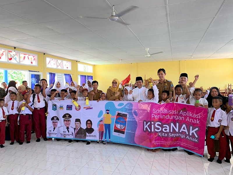 Komitmen Ciptakan Kabupaten Layak anak, Ibnu Saleh : Anak-anak Luar Biasa Aset Masa Depan