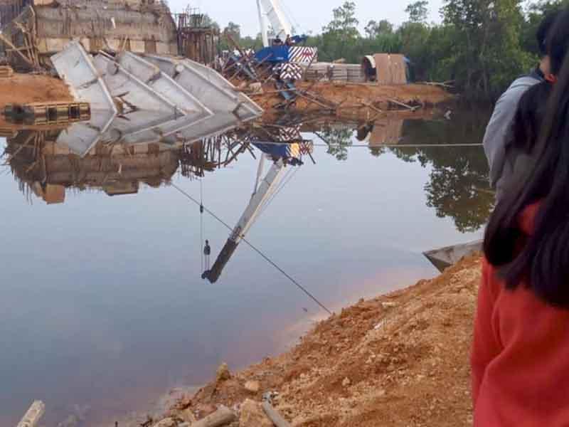 Kontruksi Jerambah Gantung Ternyata Tiru Jembatan Gantung Buatan Belanda
