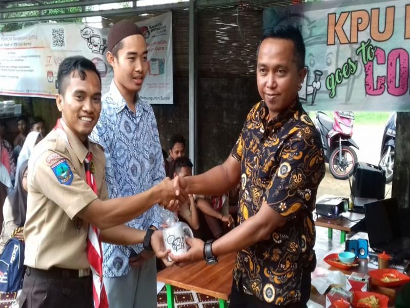 KPU Bangka Ajak Pramuka Sosialisasikan Pemilu 2019