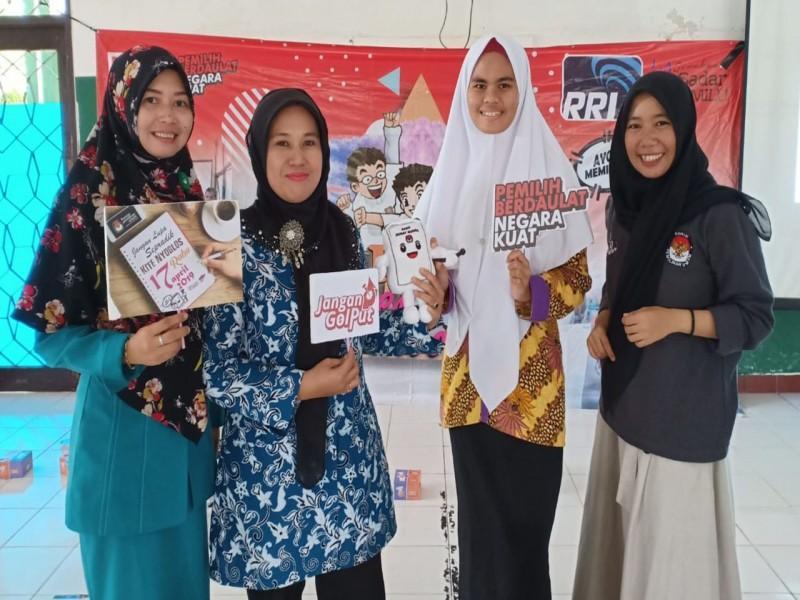 KPU Bangka Gencar Sosialisasi Pemilu 2019 ke Sekolah