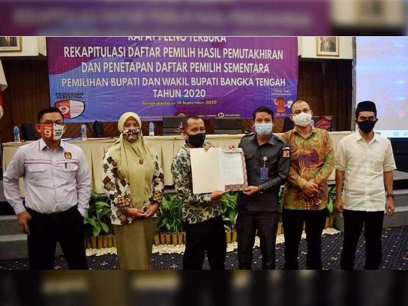 KPU Bateng Gelar Pleno, Daftar Pemilih Sementara Berjumlah 129.199