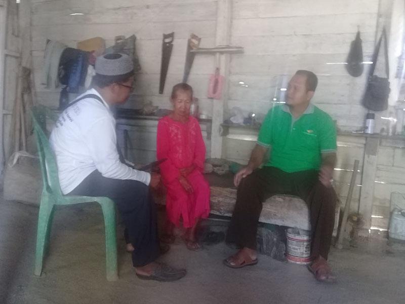 Kunjungan ke 175, Sahabat JCA Kunjungi Rumah Warga Sidoharjo