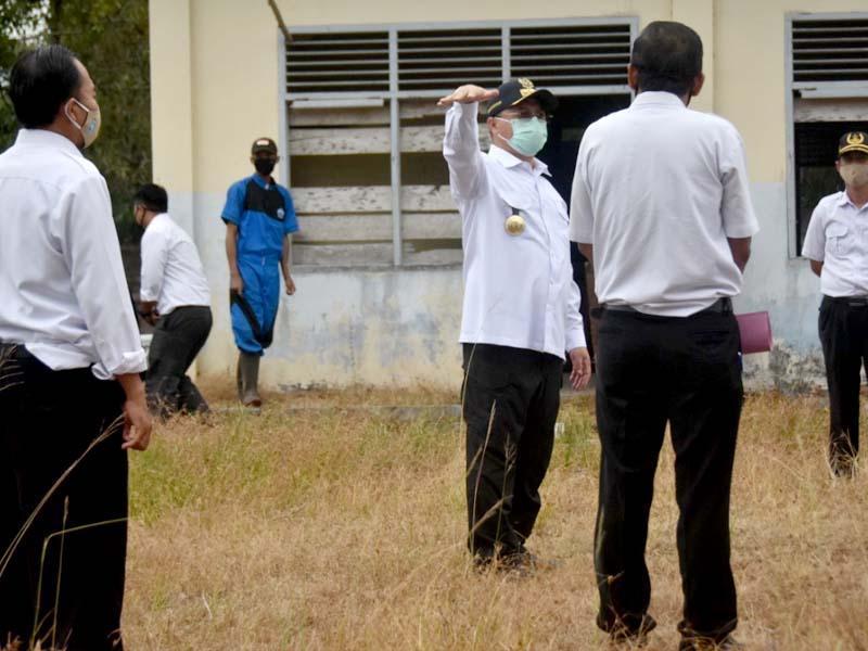 Kunjungi SMKN 4 Pangkalpinang, Gubernur Erzaldi Ingin SDM Kemaritiman Lebih Unggul