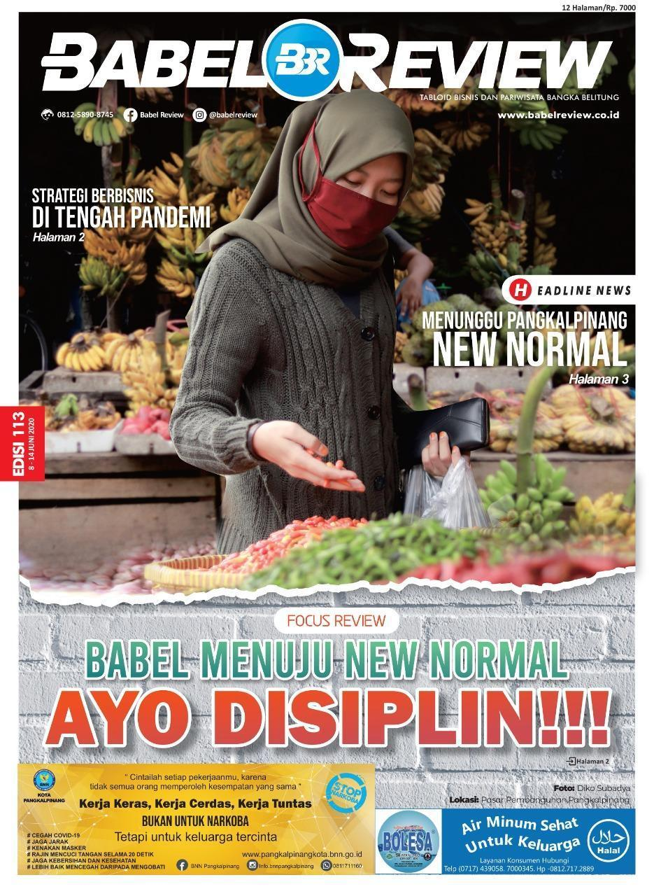 (LAPUT) Babel Mau Menuju New Normal, Syaratnya Yo DISIPLIN..!!