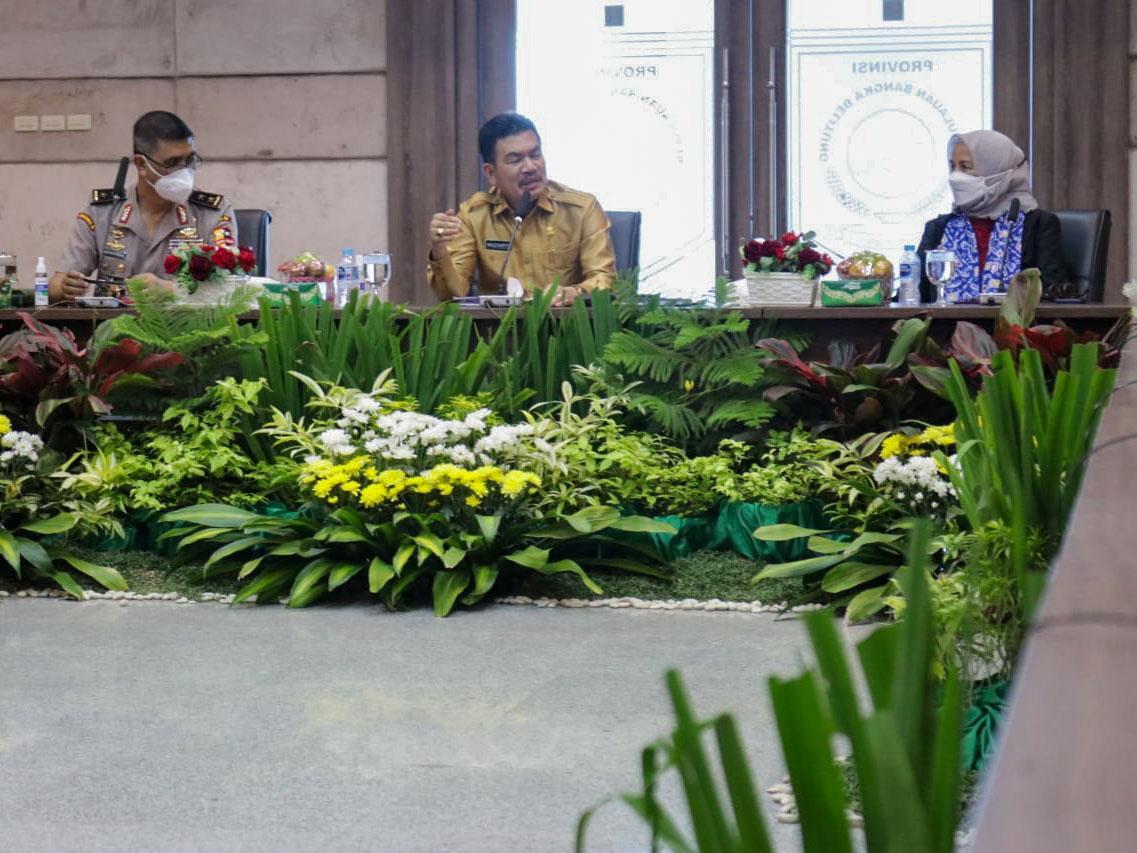 Lemhannas RI Lakukan Studi Tata Kelola Pemerintahan di Bangka Belitung