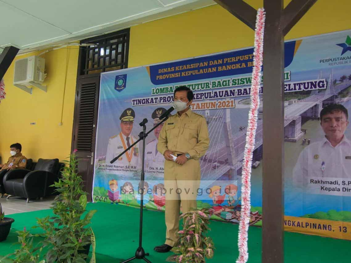 Lomba Bertutur Siswa SD Tingkat Provinsi Menumbuhkan Semangat Membaca
