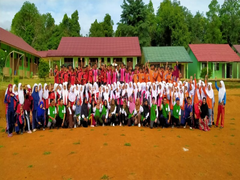 Mahasiswa IAIN SAS Babel KKN di Simba, Siapkan Program Agama, Ekonomi dan Sosial