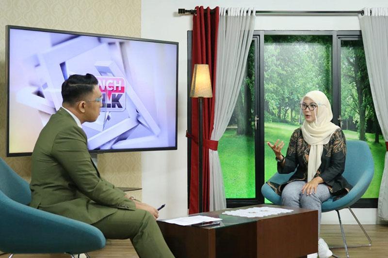 Melati Erzaldi Berbagi Cerita Memajukan UMKM Babel di TV Nasional