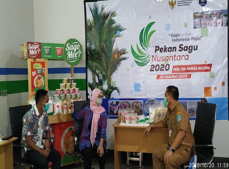 Melati Erzaldi Kenalkan Sago Mee di Pekan Sagu Nusantara 2020