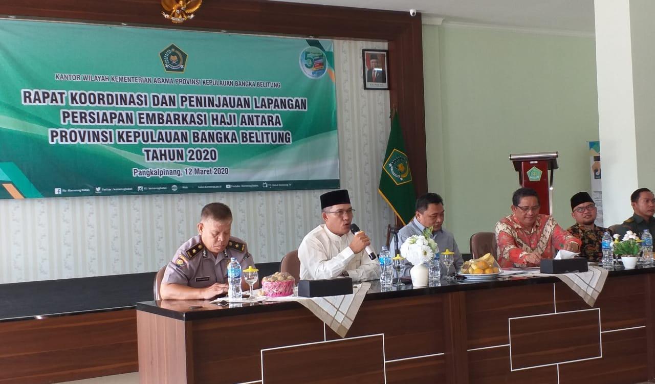 Menag Tetapkan Babel Jadi Embarkasi Haji Antara, Jawarno: Mulai Berlaku Untuk Pemberangkatan Haji Tahun 2020
