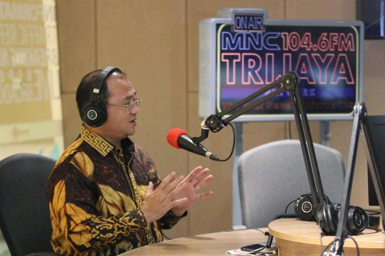 Mengudara Lewat Radio MNC Trijaya FM, Gubernur Erzaldi Beberkan Cara Babel Tangani Covid-19