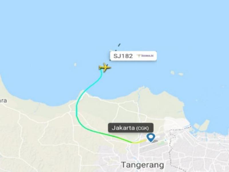 Menhub Budi Karya Paparkan Kronologi Jatuhnya Pesawat Sriwijaya Air SJ-182