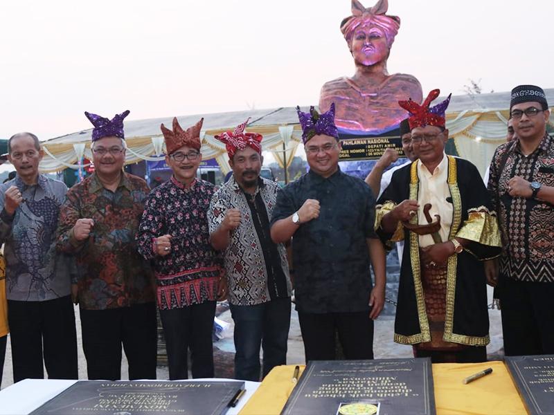 Monumen Depati Amir Resmi Diperkenalkan Tepat Pada Hari Pahlawan