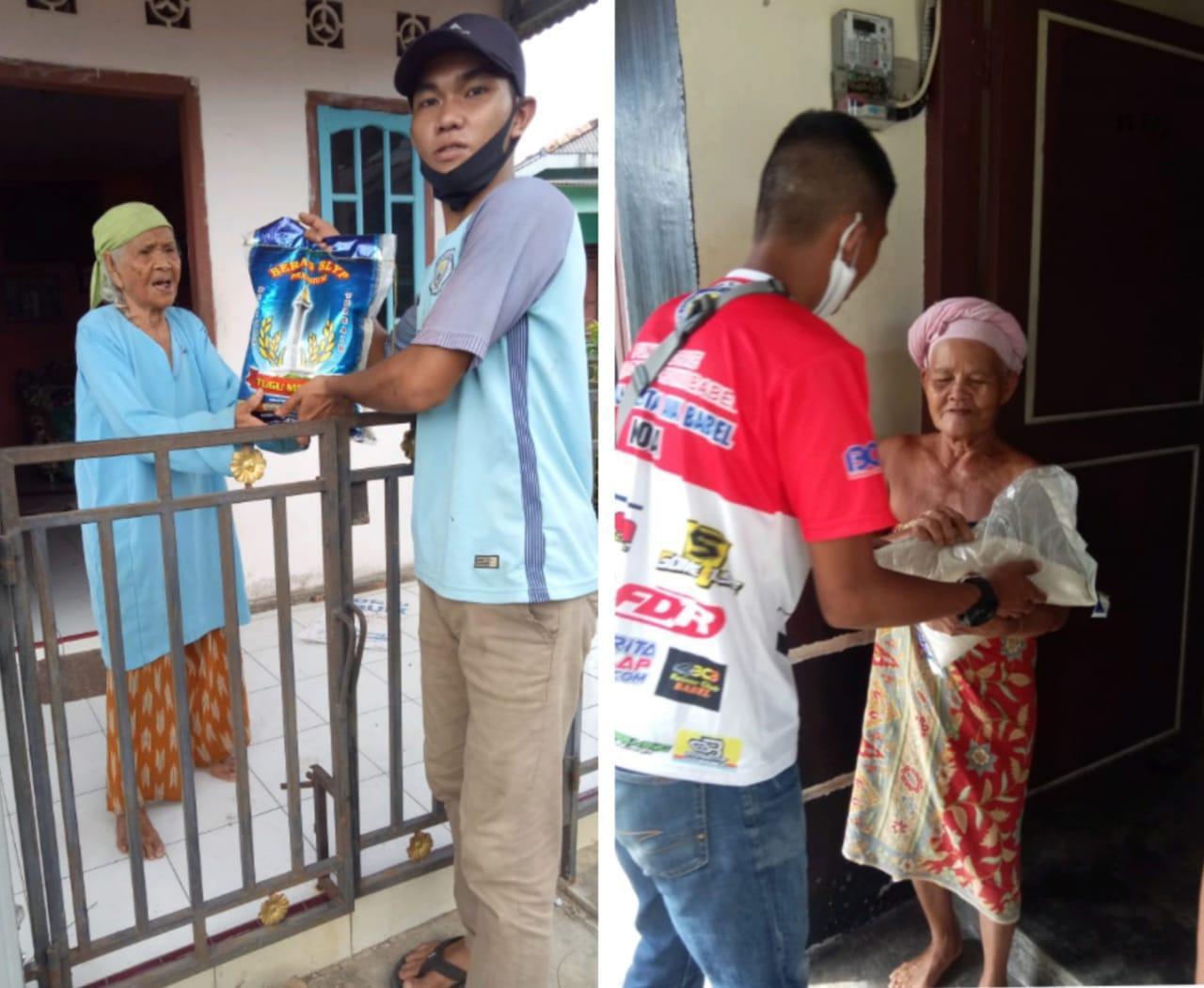Nenek Ini Menangis Dapat Beras Dari Jawarno: Tetaplah Jadi Dewan Yang Memperhatikan Rakyat