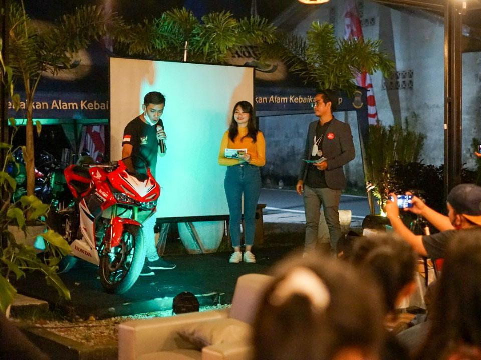 New Honda CBR150R Menggoda Pencinta Motor Sport di Bangka Belitung