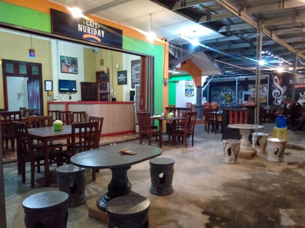 Nuriday Cafe, Jadi Pilihan Bersantap Ditemani Hiburan Musik