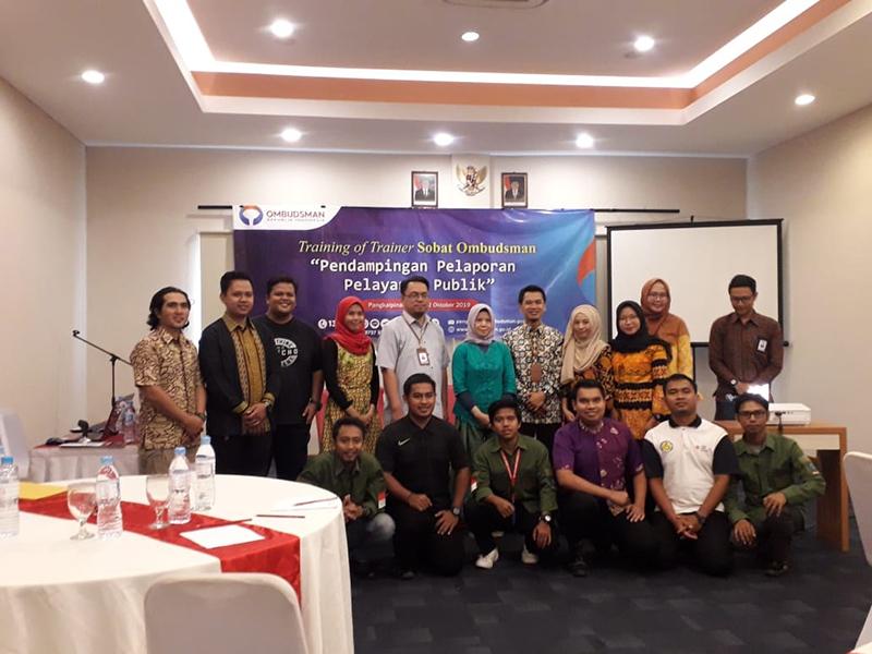 Ombudsman Bangka Belitung Harap Sobat Ombudsman Berperan Aktif