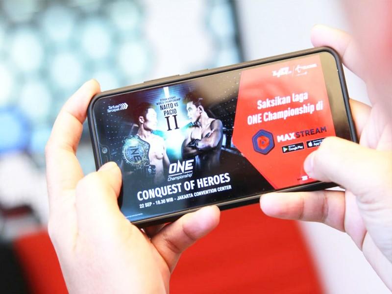ONE Championship Menjalin Kemitraan Strategis dengan Telkomsel sebagai Mitra Konten Video Digital MAXstream