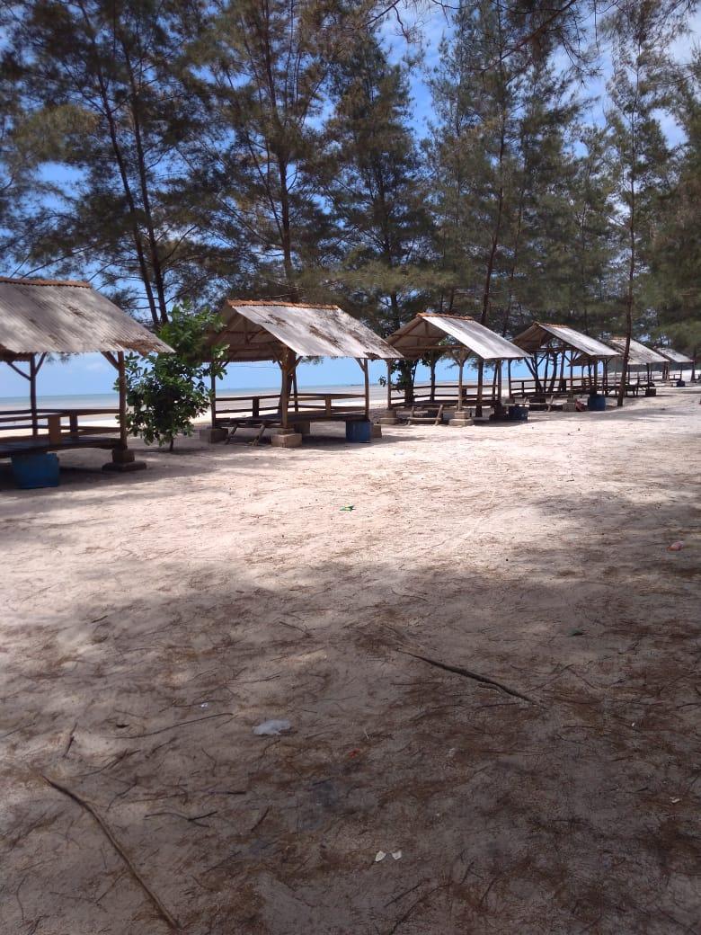 Pantai Temberan Ini, Dahulunya Ternyata Bekas TI Apung
