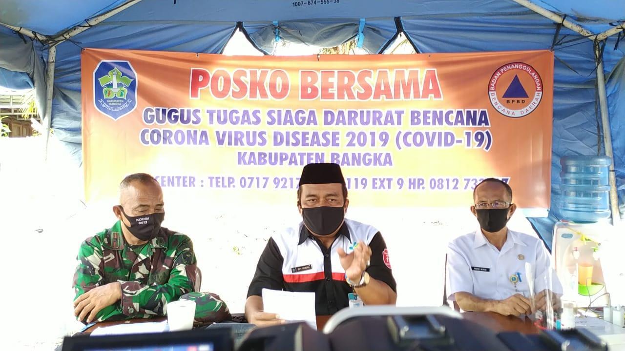 Pasien Positif Covid-19 Di Kabupaten Bangka Bertambah 5 Orang, Total Menjadi 13 Kasus